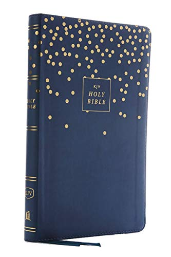 KJV, Thinline Bible Youth Edition, Leathersoft, Blue, Red Letter Edition, Comfort Print: Holy Bible, King James Version