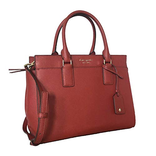 Kate Spade New York Cameron Medium Satchel Purse (Rosso) - Current Trend Sales