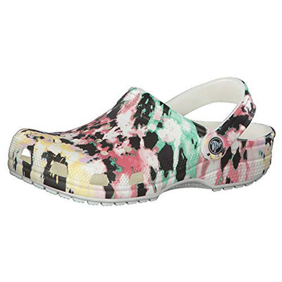 Crocs Men's and Women's Tie Dye Mania Clog 13 US 11 US M US - Current Trend Sales