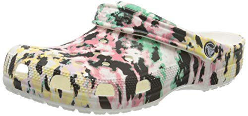 Crocs Men's and Women's Tie Dye Mania Clog, 15 US 13 US M US - Current Trend Sales