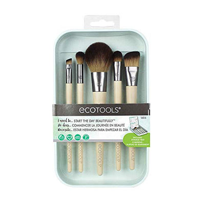 Eco.. Ecotools Start The Day Beautifully Make-up Brushes, 5 Ea, 5count - Current Trend Sales