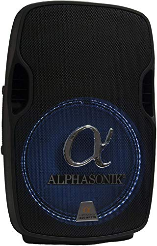 "Alphasonik 15"" Portable DJ Amplified Loud Speaker - Current Trend Sales"