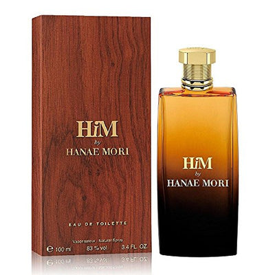 Hanae Mori Him Eau de Toilette Spray for Men, 3.4 Fluid Ounce - Current Trend Sales