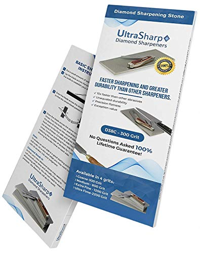 Ultra Sharp Diamond Sharpening Stone Set - Coarse/Extra Fine - 8 x 3 - Current Trend Sales