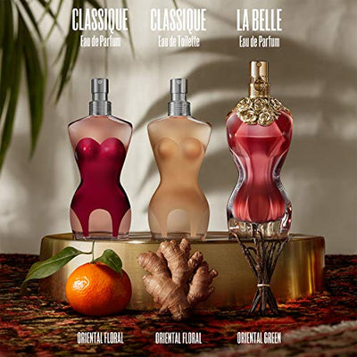 Jean Paul Gaultier Classique Eau de Toilette Spray for Women, 100 ml - Current Trend Sales