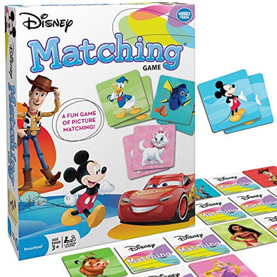 Wonder Forge Disney Classic Characters Matching Game for Boys & Girls Age 3 to 5 - A Fun & Fast Disney Memory Game