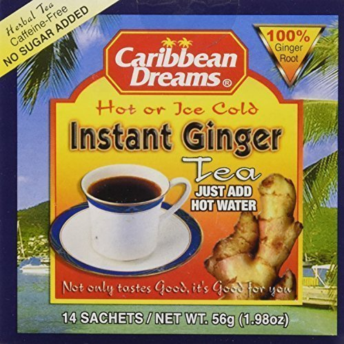 Caribbean  Instant Ginger Tea Un-Sweetened - Current Trend Sales
