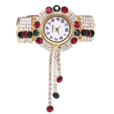 Top Brand Luxury Rhinestone Bracelet Wrist Watch Women