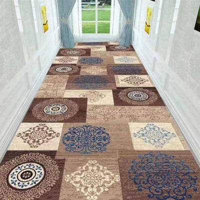 Long Hallway Rug 3D Nordic Geometric Stair Carpet Home Floor Runners