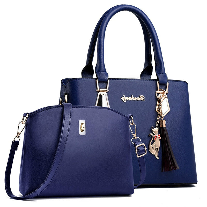 Woman Bag Female Handbag  Lady Hand Bag Set Luxury