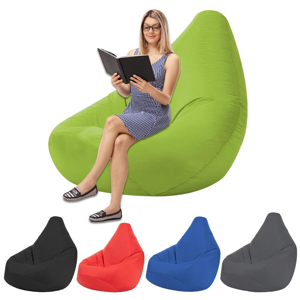 Stuffed Amimal Storage Bean Bag Chair Washable Seat Sofa Cover