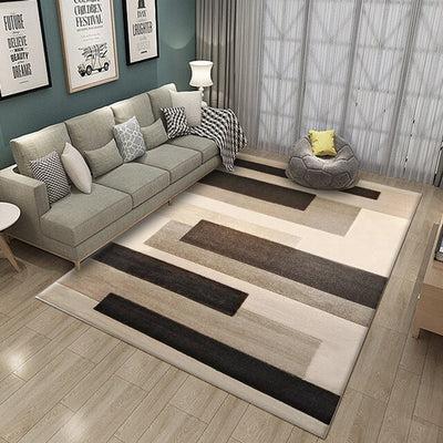 Modern Geometric Carpets For Home Living Room Nordic Carpet