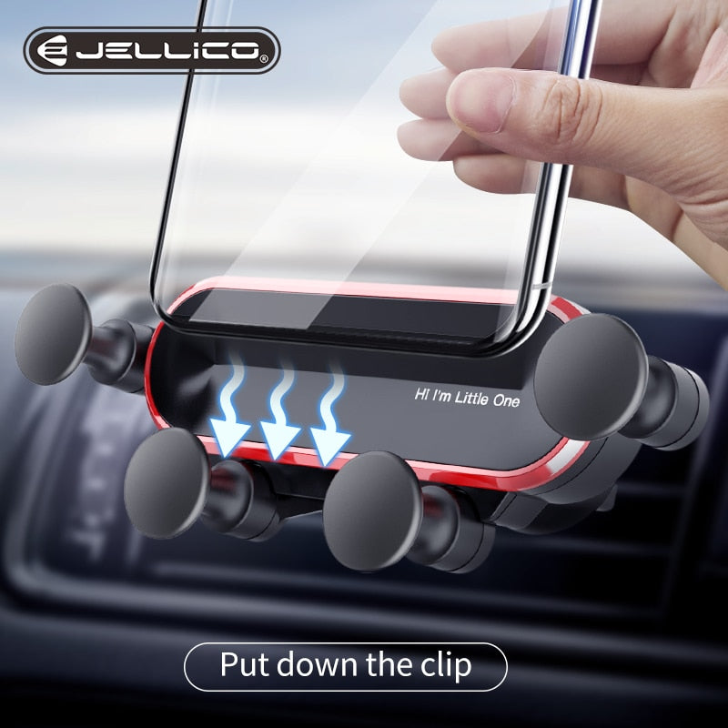 Universal Gravity Car Phone Holder For Phone in Car Air Vent Clip Mount