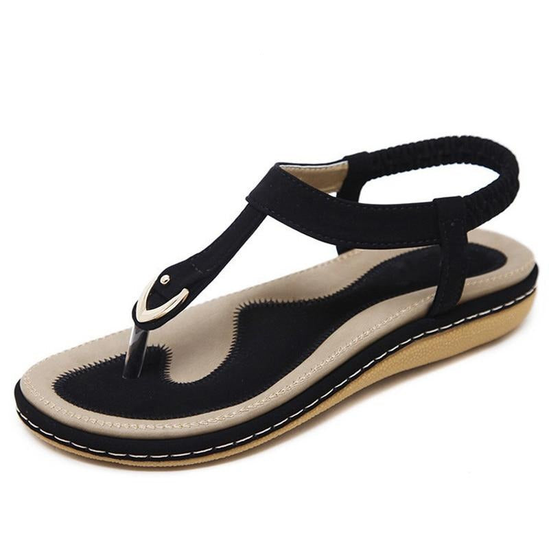 Summer Shoes Women  Beach Flip Flops Soft Flat Sandals Woman Casual