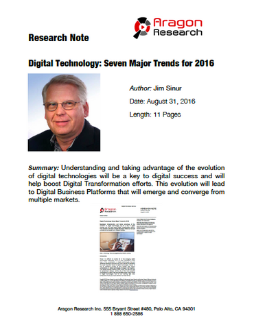 2016-32i Digital Technology: Seven Major Trends for 2016