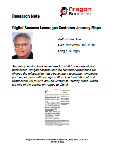 2016-33 Digital Success Leverages Customer Journey Maps