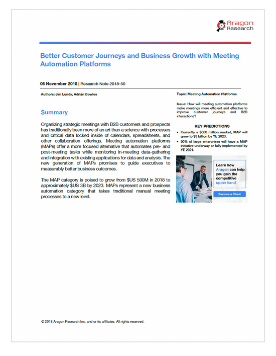Better Customer Journeys and Business Growth with Meeting Automation