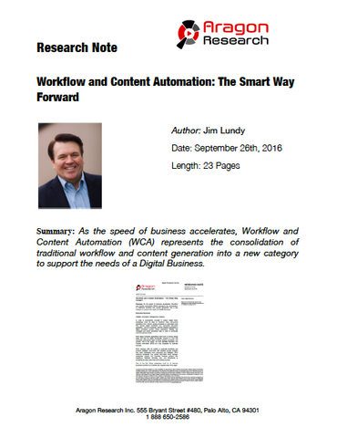 2016-36 Workflow and Content Automation: The Smart Way Forward