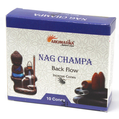 Cônes Fontaine BackFlow Nag Champa - L'Onyx Boutique