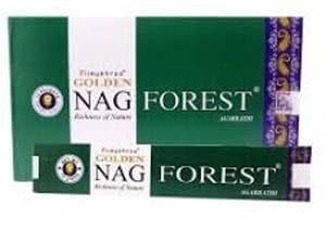 Encens Golden Nag Forest 15g - L'Onyx Boutique