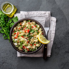 Tabbouleh Salad – Crunchy Seasonal Vegetable with Citrus, Fresh Herb and Wood-Roasted Pistachio (Serves 2)