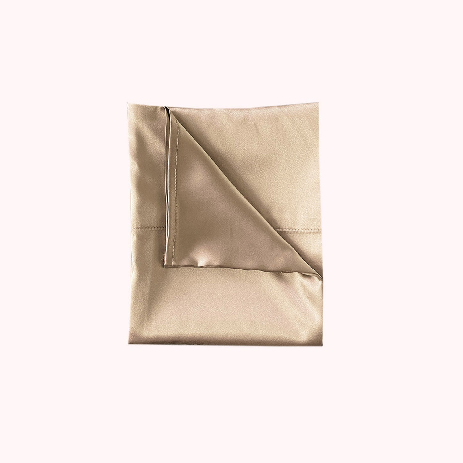 RISE Essential Satin Pillowcase - Golden Honey