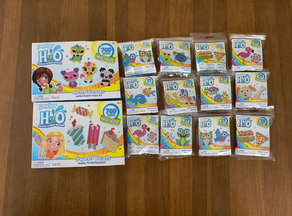 Perler - H2O - Water Beads Complete Set (No Iron)
