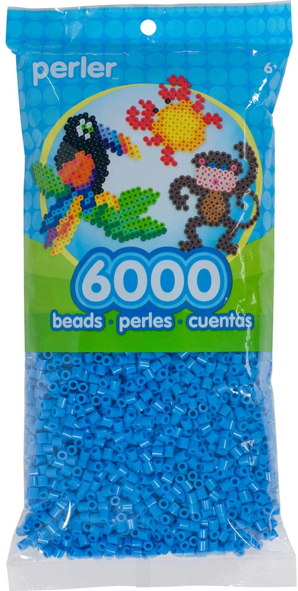 Perler - 6,000 Count - Light Blue