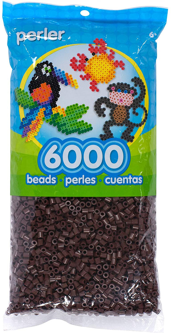Perler - 6,000 Count - Brown