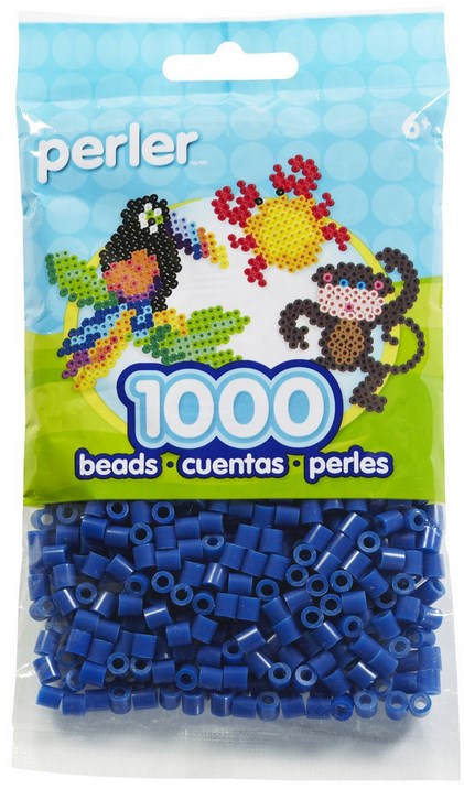 Perler - 1000 Count - Dark Blue