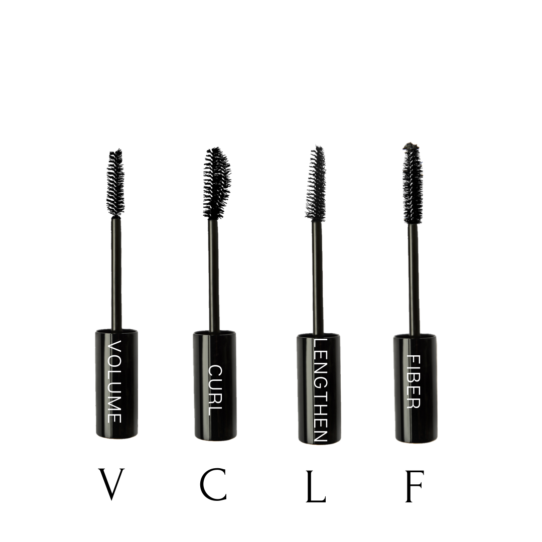 Mascara brush options