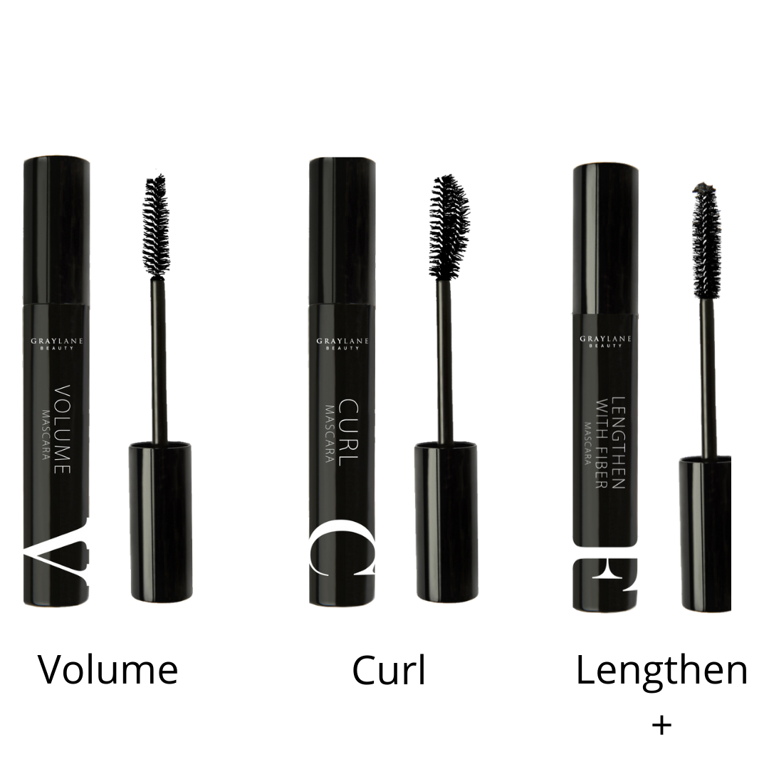 Discovery Set 2 - Volume, Curl, Lengthen + - Gray Lane Beauty