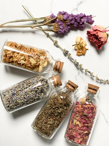 Dried Herbs Bundle- 4 vials