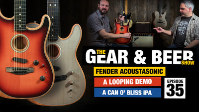 Fender Acoustasonic Strat vs Tele - [EP35] Gear & Beer Show