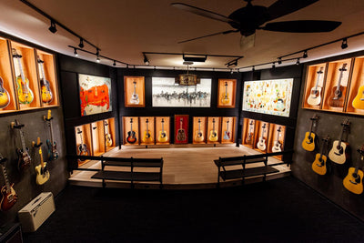 Vintage, Rare and Custom Guitars, Music Villa's Guitar Vault is Open!