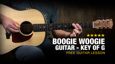 Boogie Woogie Guitar Lesson - Key of G