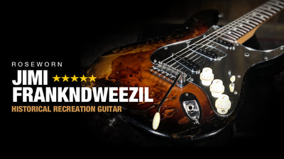Roseworn Jimi Frankndweezil - A Replica Guitar with a Classic Story!