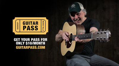 GUITAR PASS - Online Guitar Lessons from Music Villa