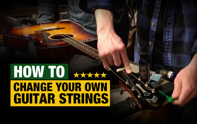 How to Change Your Guitar Strings at Home (Acoustic)