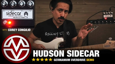A Look at the Hudson Electronics Sidecar Overdrive Pedal
