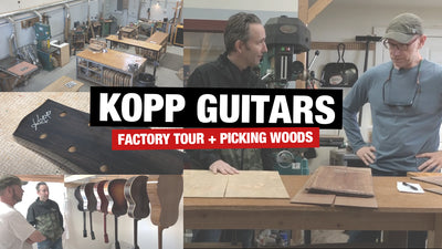 Kevin Kopp Factory Tour & Peek at Upcoming Models!