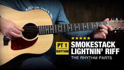 Smokestack Lightnin' Guitar Lesson - Part 1 (Rhythm)