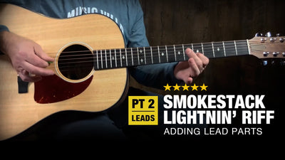 Smokestack Lightnin' Guitar Lesson - Part 2 (Adding Leads)