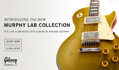 Gibson's New Murphy Lab Aged Les Pauls Are Here!