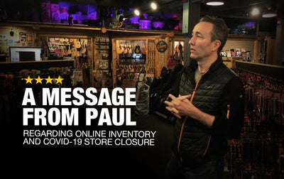 Support Music Villa Online - A Message from Paul Regarding Online Inventory