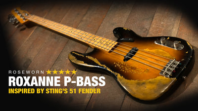 Roxanne P-Bass - Inspired Recreation of Sting's '51 Fender Bass