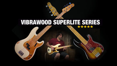Vibrawood Superlite Custom Instruments at Music Villa