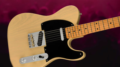 A Look at the Fender 70th Anniversary Broadcaster