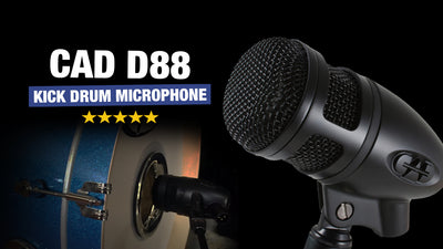 Cad D88 - The Best $100 Kick Drum Mic