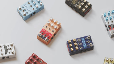 A Look At Chase Bliss Audio Pedals